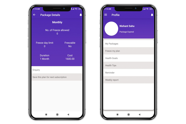 Package and Payment Tracker